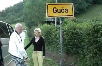 Serbian womans Svetlana and Dragna fucking