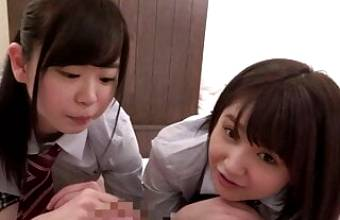 SEX Video with TWO Super-Cute Girls