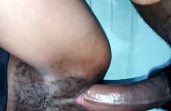 She swallows it all Long Big Dick