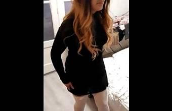 sissy husband fucks wife and licks pussy