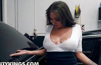 Sneaky Sex – Cassidy Banks Jmac – My Mechanic Fucked My Wife